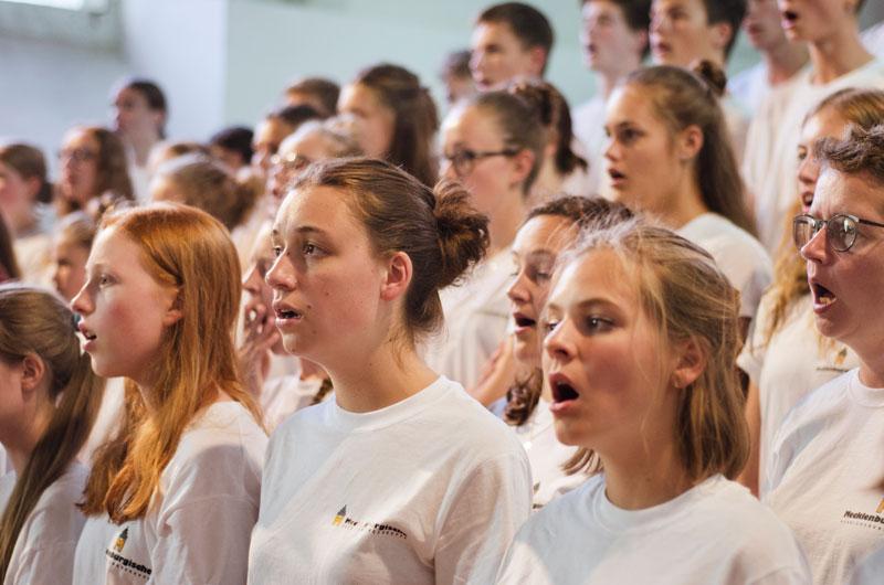 Chorsingen in Rostock mit dem Choralchor